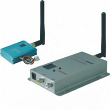 Kit trasmettitore video + audio wireless 2.4ghz 0,7watt 12 canalli