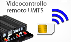 Videocontrollo remoto UMTS