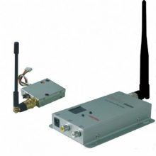 Kit trasmettitore video + audio wireless 1,2ghz 0,1watt 8 canal