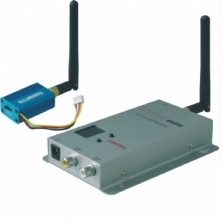Kit trasmettitore video + audio wireless 2,4ghz 0,1watt 4 canali
